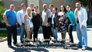 20 Hour Bail Pre Licensing Programs in California