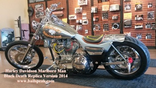 Harley Davidson and the Marlboro Man Motorcycle