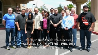 San Jose Bail Pre Licensing Classes